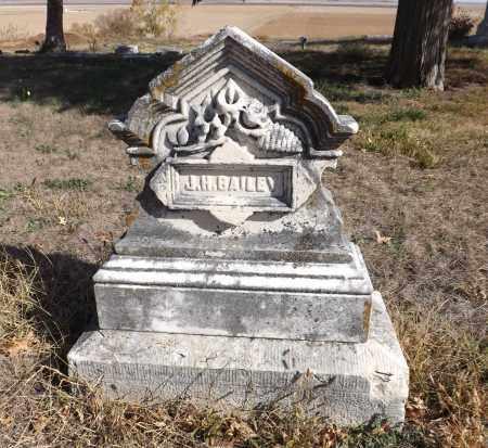BAILEY, JOHN H. - Washington County, Nebraska | JOHN H. BAILEY - Nebraska Gravestone Photos