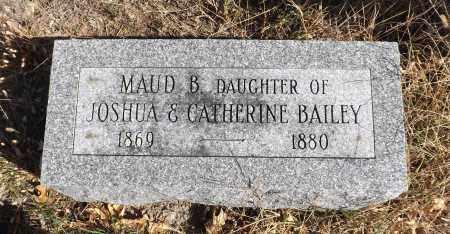 BAILEY, MAUD B - Washington County, Nebraska | MAUD B BAILEY - Nebraska Gravestone Photos