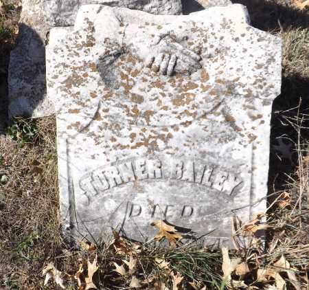 BAILEY, TURNER (TOP) - Washington County, Nebraska | TURNER (TOP) BAILEY - Nebraska Gravestone Photos