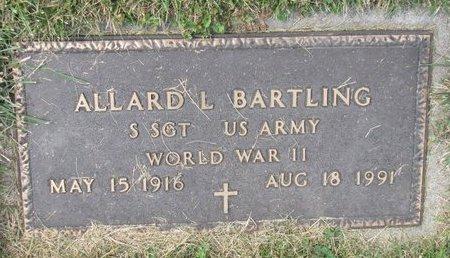 BARTLING, ALLARD L. (MILITARY) - Washington County, Nebraska | ALLARD L. (MILITARY) BARTLING - Nebraska Gravestone Photos