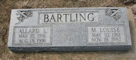 BARTLING, ALLARD L. - Washington County, Nebraska | ALLARD L. BARTLING - Nebraska Gravestone Photos