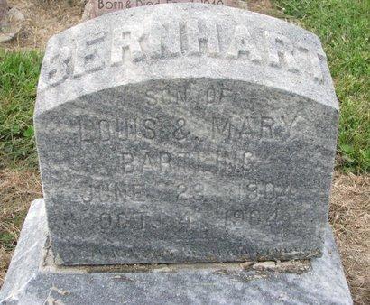 BARTLING, BERNHART - Washington County, Nebraska | BERNHART BARTLING - Nebraska Gravestone Photos
