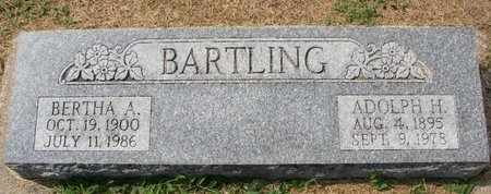 BARTLING, BERTHA A. - Washington County, Nebraska | BERTHA A. BARTLING - Nebraska Gravestone Photos