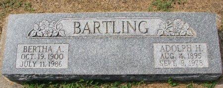 BARTLING, BERTHA A. - Washington County, Nebraska | BERTHA A. BARTLING - Nebraska Gravestone Photos