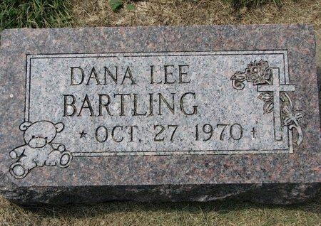 BARTLING, DANA LEE - Washington County, Nebraska | DANA LEE BARTLING - Nebraska Gravestone Photos