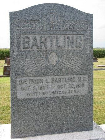 BARTLING, DIETRICH L. - Washington County, Nebraska   DIETRICH L. BARTLING - Nebraska Gravestone Photos