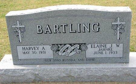 BARTLING, ELAINE J.W. - Washington County, Nebraska   ELAINE J.W. BARTLING - Nebraska Gravestone Photos
