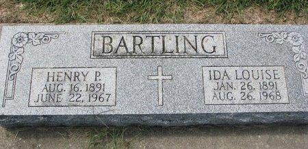 BARTLING, IDA LOUISE - Washington County, Nebraska | IDA LOUISE BARTLING - Nebraska Gravestone Photos