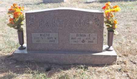 BARTLING, BYRON E. - Washington County, Nebraska | BYRON E. BARTLING - Nebraska Gravestone Photos