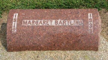 BARTLING, MARGARET - Washington County, Nebraska | MARGARET BARTLING - Nebraska Gravestone Photos