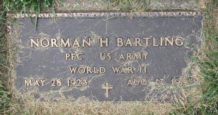 BARTLING, NORMAN H. (MILITARY) - Washington County, Nebraska   NORMAN H. (MILITARY) BARTLING - Nebraska Gravestone Photos