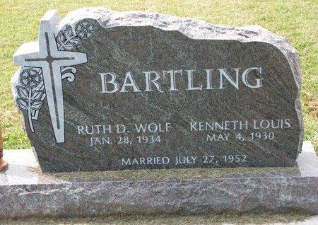 BARTLING, KENNETH LOUIS - Washington County, Nebraska | KENNETH LOUIS BARTLING - Nebraska Gravestone Photos