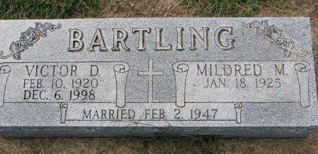 BARTLING, MILDRED M. - Washington County, Nebraska | MILDRED M. BARTLING - Nebraska Gravestone Photos