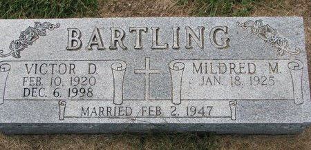 BARTLING, MILDRED M. - Washington County, Nebraska   MILDRED M. BARTLING - Nebraska Gravestone Photos
