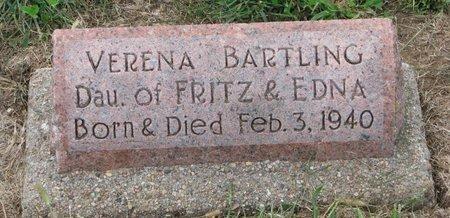 BARTLING, VERENA - Washington County, Nebraska | VERENA BARTLING - Nebraska Gravestone Photos