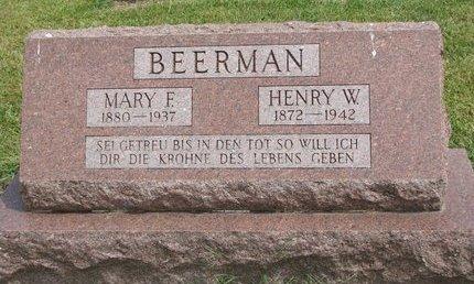 BARTLING BEERMAN, MARY F. - Washington County, Nebraska | MARY F. BARTLING BEERMAN - Nebraska Gravestone Photos
