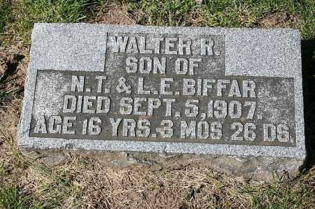 BIFFAR, WALTER R. - Washington County, Nebraska | WALTER R. BIFFAR - Nebraska Gravestone Photos