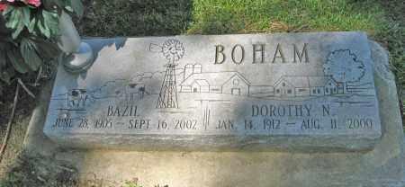 BOHAM, DOROTHY N. - Washington County, Nebraska | DOROTHY N. BOHAM - Nebraska Gravestone Photos