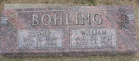 BOHLING, WILLIAM - Washington County, Nebraska | WILLIAM BOHLING - Nebraska Gravestone Photos