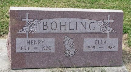 BOHLING, HENRY - Washington County, Nebraska | HENRY BOHLING - Nebraska Gravestone Photos