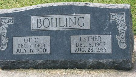 BOHLING, OTTO - Washington County, Nebraska | OTTO BOHLING - Nebraska Gravestone Photos
