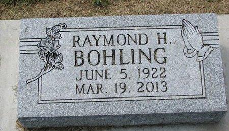 BOHLING, RAYMOND H. - Washington County, Nebraska | RAYMOND H. BOHLING - Nebraska Gravestone Photos