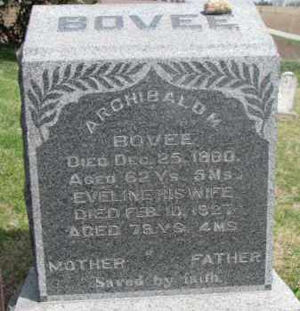 BOVEE, EVELINE - Washington County, Nebraska | EVELINE BOVEE - Nebraska Gravestone Photos