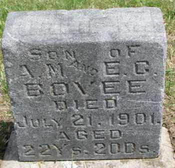 BOVEE, ORLIE M. - Washington County, Nebraska | ORLIE M. BOVEE - Nebraska Gravestone Photos