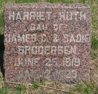 BRODERSEN, HARRIET RUTH - Washington County, Nebraska | HARRIET RUTH BRODERSEN - Nebraska Gravestone Photos