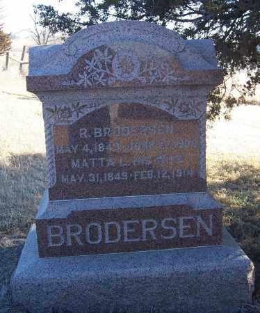 BRUNS BRODERSEN, MATTA - Washington County, Nebraska | MATTA BRUNS BRODERSEN - Nebraska Gravestone Photos
