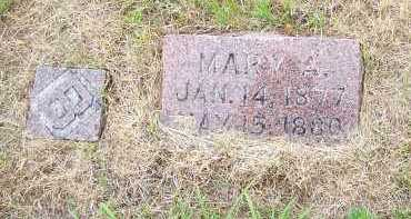BRODERSON, MARY A. - Washington County, Nebraska | MARY A. BRODERSON - Nebraska Gravestone Photos