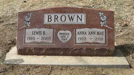 BROWN, LEWIS B. - Washington County, Nebraska | LEWIS B. BROWN - Nebraska Gravestone Photos