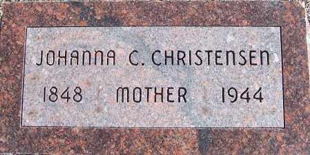 CHRISTENSEN, JOHANNA CHRISTINE - Washington County, Nebraska | JOHANNA CHRISTINE CHRISTENSEN - Nebraska Gravestone Photos