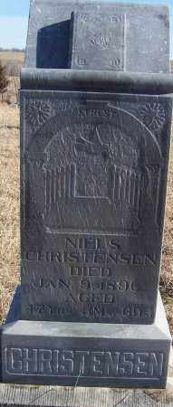 CHRISTENSEN, NIELS - Washington County, Nebraska | NIELS CHRISTENSEN - Nebraska Gravestone Photos