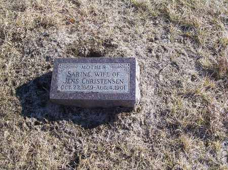 CHRISTENSEN, SARINE - Washington County, Nebraska | SARINE CHRISTENSEN - Nebraska Gravestone Photos