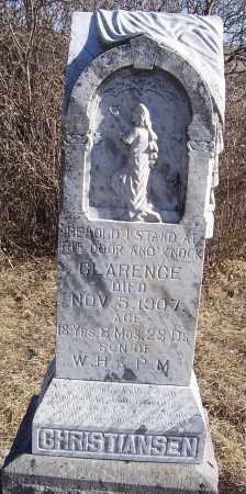 CHRISTIANSEN, CLARENCE - Washington County, Nebraska | CLARENCE CHRISTIANSEN - Nebraska Gravestone Photos
