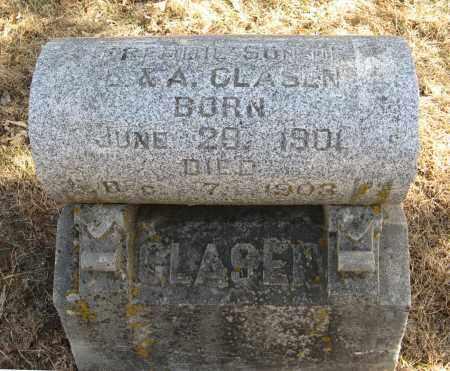 CLASEN, FREDDIE - Washington County, Nebraska   FREDDIE CLASEN - Nebraska Gravestone Photos