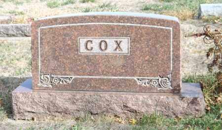 COX, (FAMILY MONUMENT) - Washington County, Nebraska | (FAMILY MONUMENT) COX - Nebraska Gravestone Photos