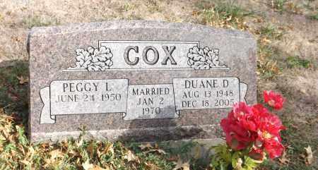 COX, DUANE D. - Washington County, Nebraska | DUANE D. COX - Nebraska Gravestone Photos