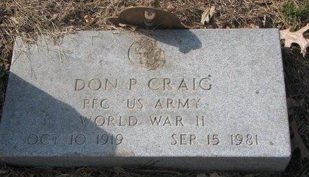 CRAIG, DON P. - Washington County, Nebraska   DON P. CRAIG - Nebraska Gravestone Photos