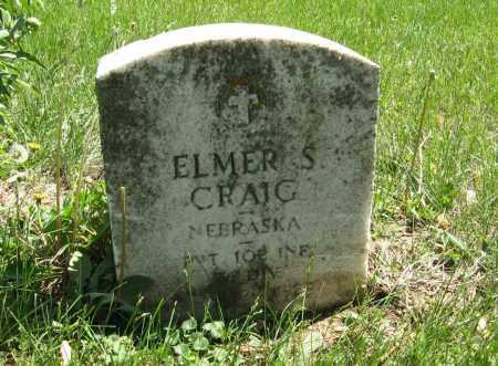CRAIG, ELMER S. - Washington County, Nebraska | ELMER S. CRAIG - Nebraska Gravestone Photos