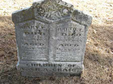 CRAIG, MARY E - Washington County, Nebraska | MARY E CRAIG - Nebraska Gravestone Photos