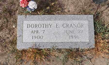 CRANOR, DOROTHY E. - Washington County, Nebraska | DOROTHY E. CRANOR - Nebraska Gravestone Photos