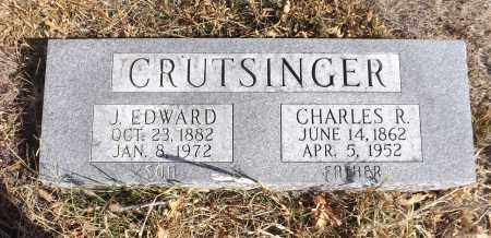CRUTSINGER, J. EDWARD - Washington County, Nebraska | J. EDWARD CRUTSINGER - Nebraska Gravestone Photos