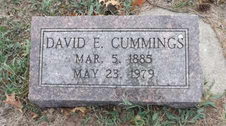 CUMMINGS, DAVID E. - Washington County, Nebraska | DAVID E. CUMMINGS - Nebraska Gravestone Photos