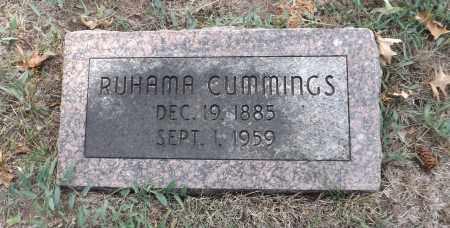 CUMMINGS, RUHAMA - Washington County, Nebraska | RUHAMA CUMMINGS - Nebraska Gravestone Photos