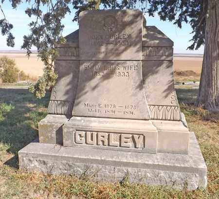 CURLEY, (FAMILY MONUMENT) - Washington County, Nebraska | (FAMILY MONUMENT) CURLEY - Nebraska Gravestone Photos