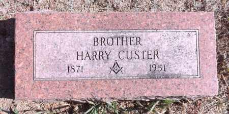 CUSTER, HARRY - Washington County, Nebraska | HARRY CUSTER - Nebraska Gravestone Photos