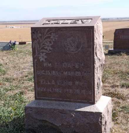 DALEY, WILLIAM H. - Washington County, Nebraska | WILLIAM H. DALEY - Nebraska Gravestone Photos