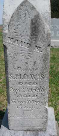 DAVID, MAUD M. - Washington County, Nebraska | MAUD M. DAVID - Nebraska Gravestone Photos